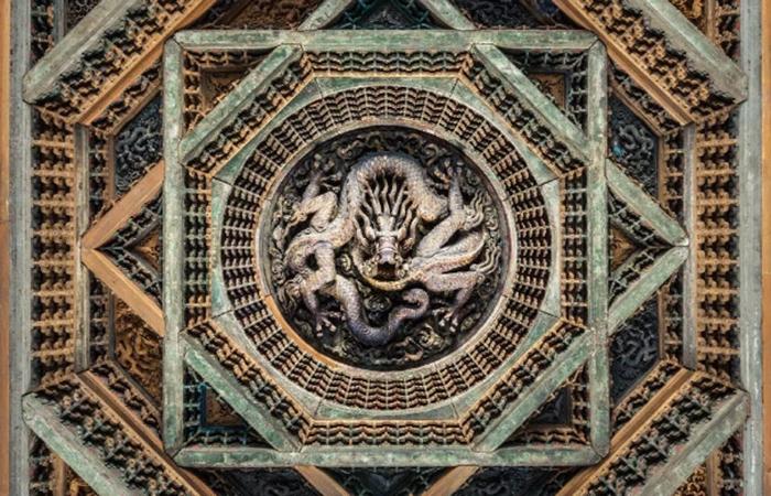 藻井:中国古建筑中不可或缺的至美元素