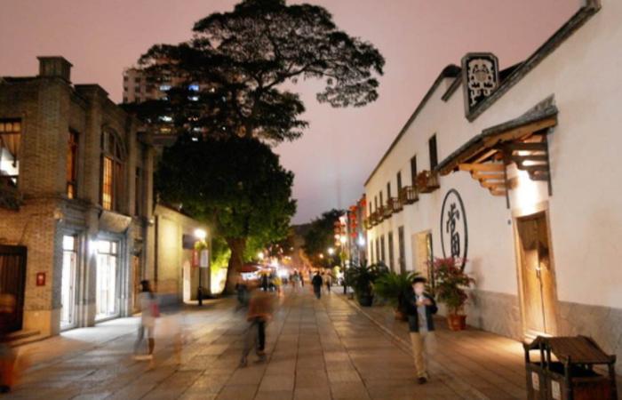 福州三坊七巷——历史名城的文化街区