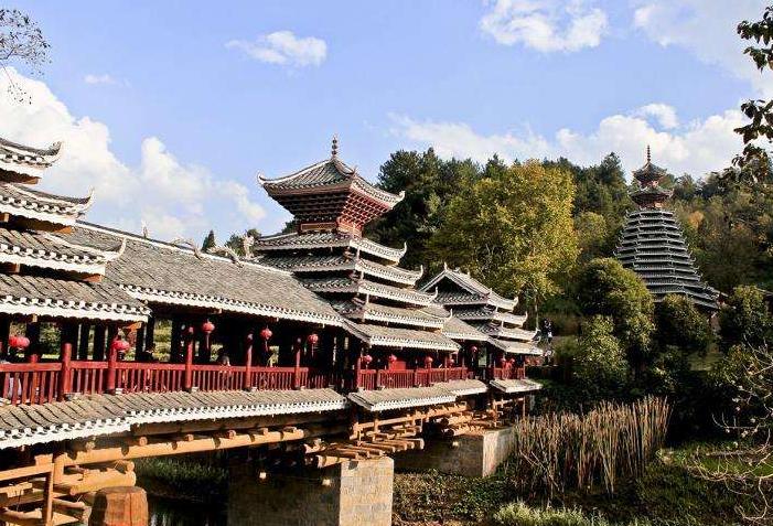 侗族木建筑