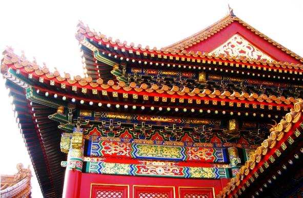 中国古建筑装饰彩画