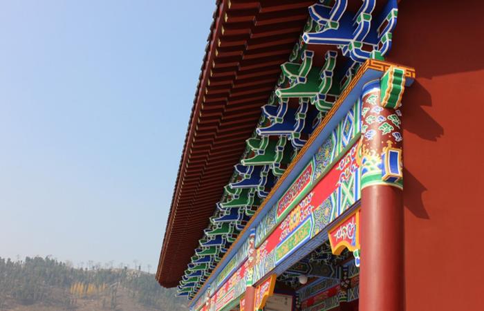 """中国古建筑装饰彩画,""""雕梁画栋""""的艺术!"""