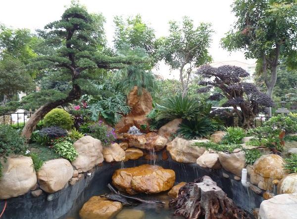 园林景观设计黄蜡石