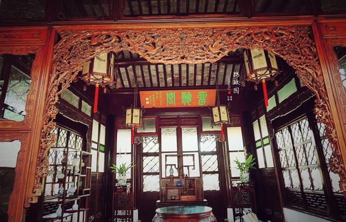 """中国传统建筑装饰构件——""""飞罩""""的艺术魅力"""