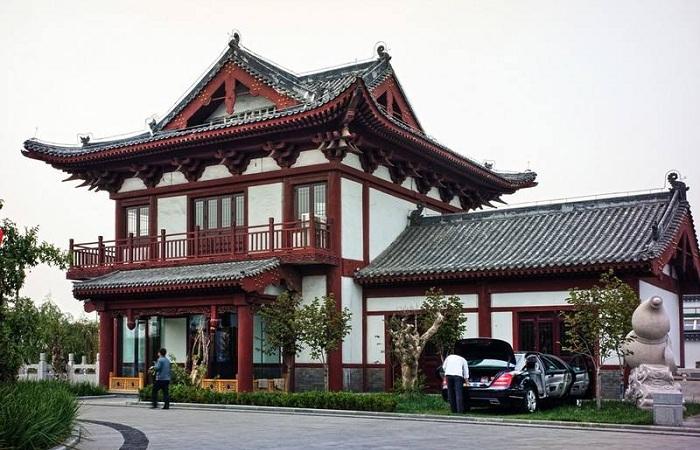 仿古建筑是对建筑文化的一种传承和应用