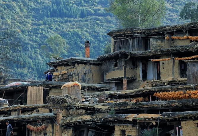 彝族传统民居建筑