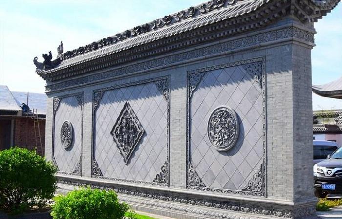 仿古砖雕——中式四合院的最佳搭配