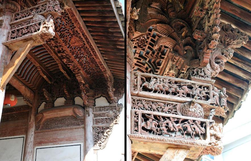 中国古建筑枋类构件