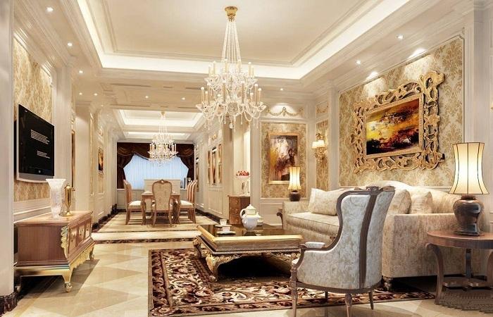 浅谈欧式古典家具的特点与搭配技巧