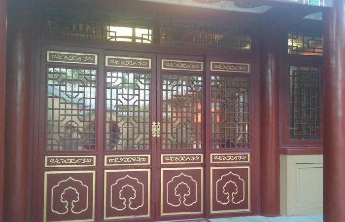 浅谈中国古建筑门窗文化的奥妙