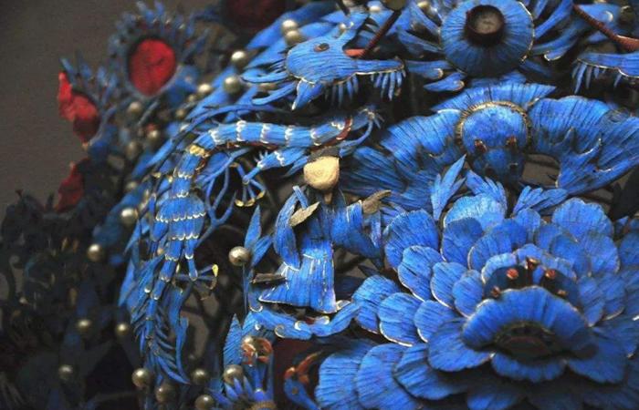传统工艺:惊艳千年的点翠,竟是这般残忍!