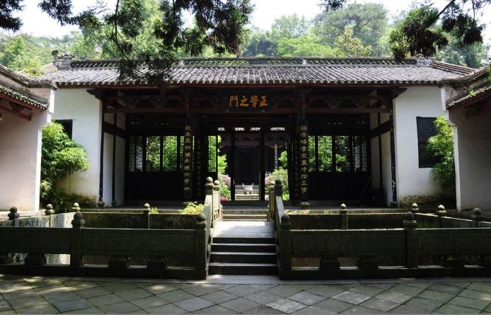 中国古代传统书院建筑