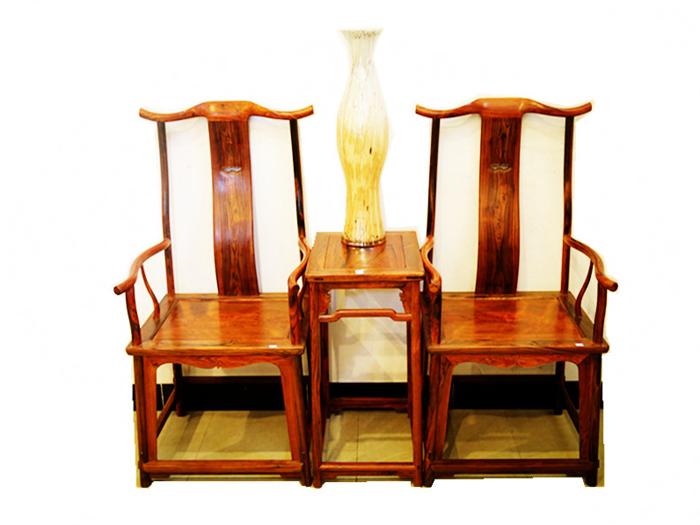 椅凳类木雕家具展示_工艺作品展示