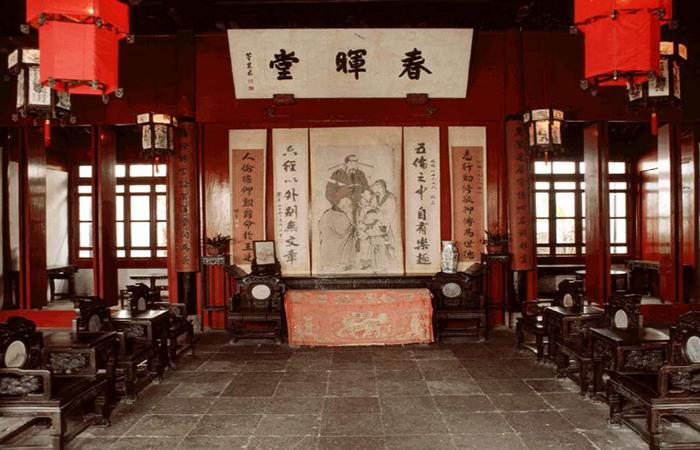 古代厅堂文化,典型的中式建筑符号!