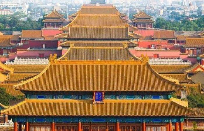 中国古建筑的屋顶等级