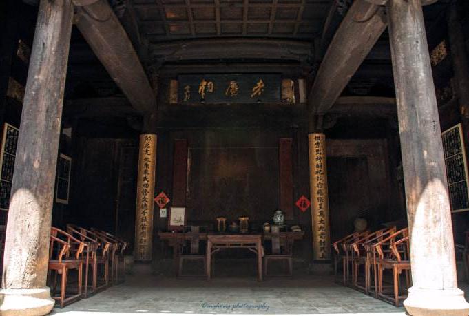 中国古建筑结构