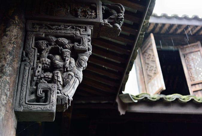 古建筑构件牛腿