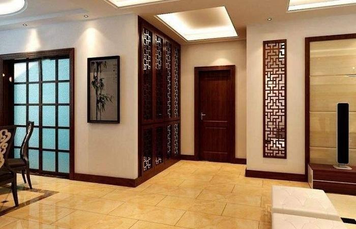 什么是屏风隔断?客厅实木屏风装修设计方法