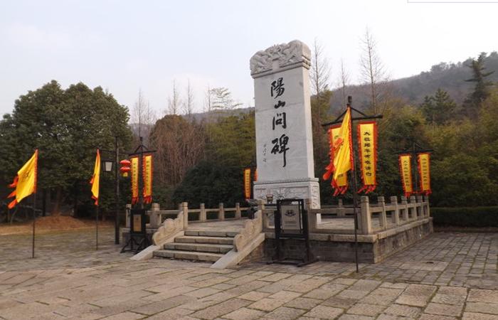 """江苏南京古建筑——""""阳山碑材""""的传说"""