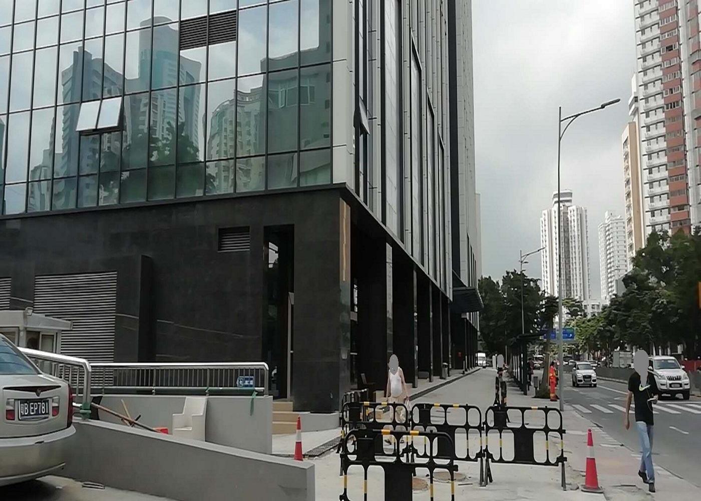 深圳罗湖口岸独栋公寓转让_市值24亿以上_现9.5亿出售