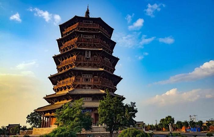 山西应县木塔——世界三大奇塔之一