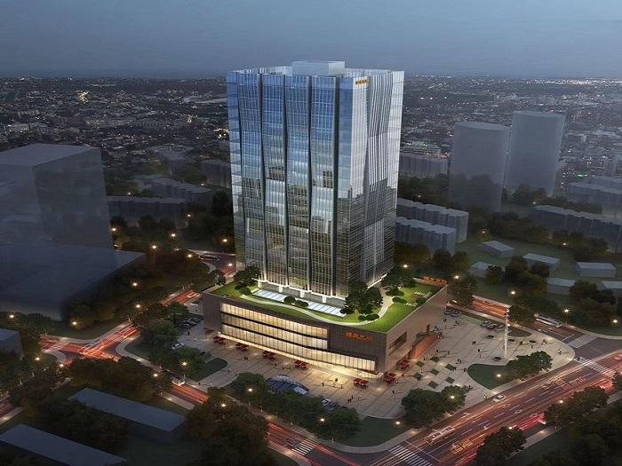 光谷国际中心_精装公寓出售_银湖科技城地标建筑