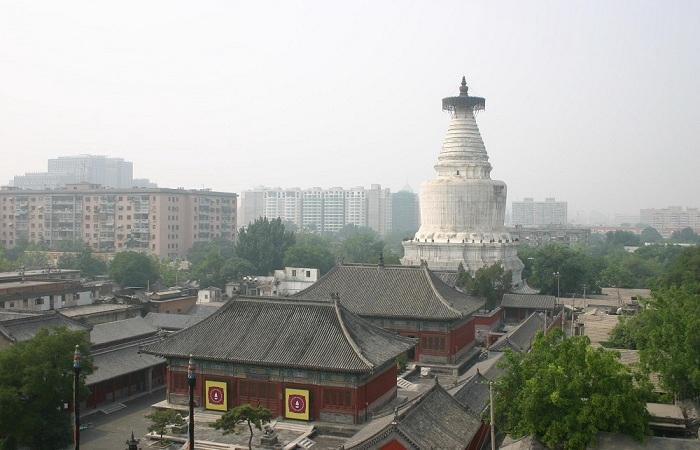 北京妙应寺白塔——中国规模最大的喇嘛塔