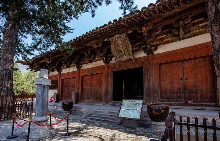 五台山佛光寺大殿建筑结构特点