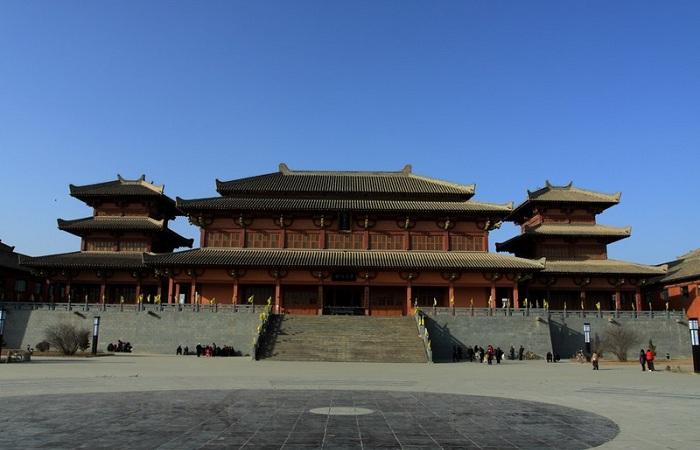 中国汉代建筑的特点分析