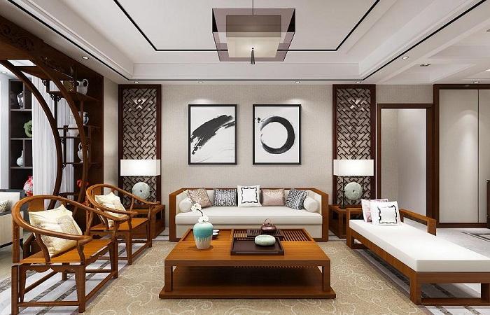 新中式风格装修设计元素和家具特点