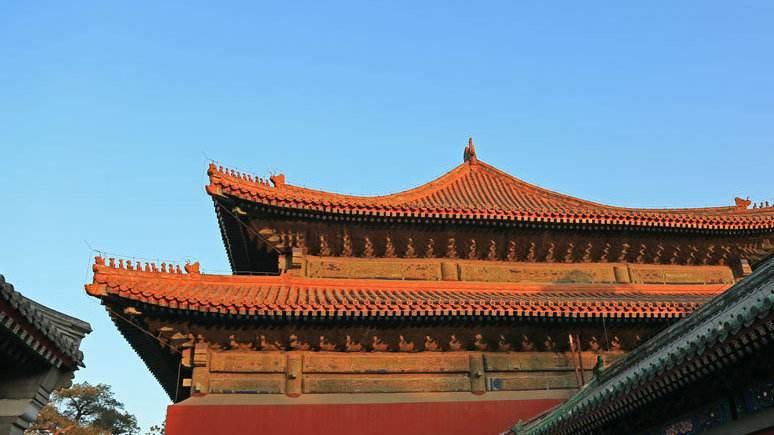 古建筑屋顶