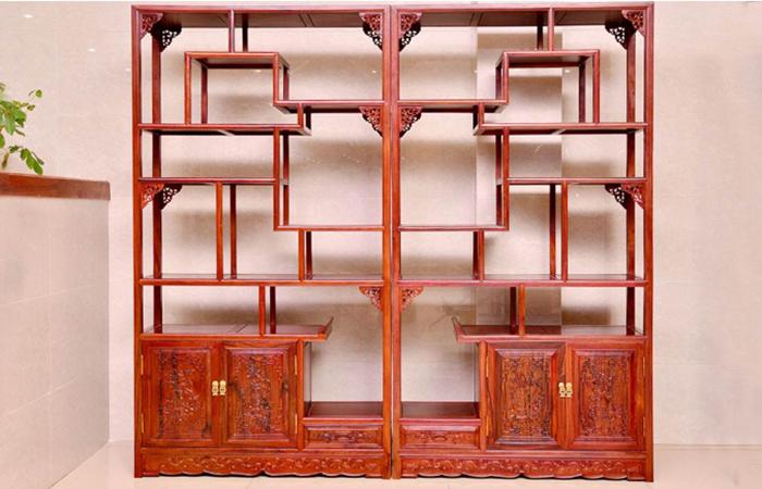 中国传统家具博古架的历史与特点