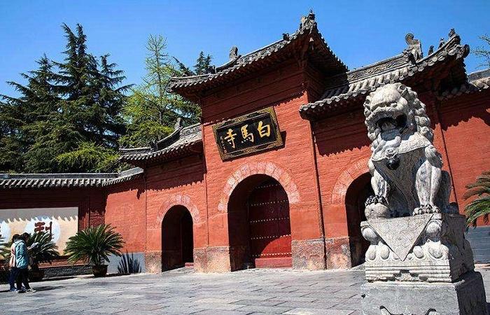中国第一座佛教寺院,白马寺始建于公元67年
