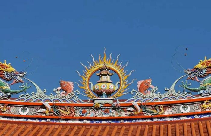 剪瓷雕:闽南地区传统建筑工艺,屋顶上的装饰艺术!