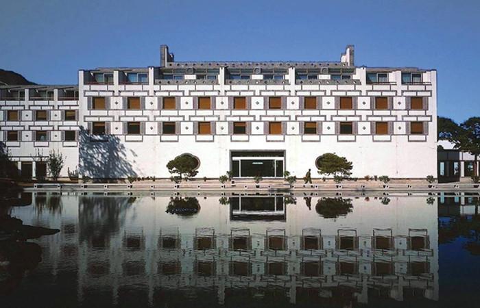 新中式建筑案例:贝聿铭与香山饭店