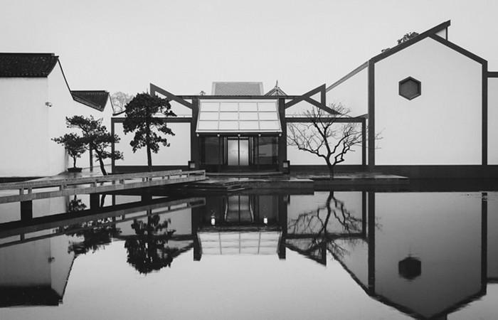 新中式建筑案例:苏州博物馆