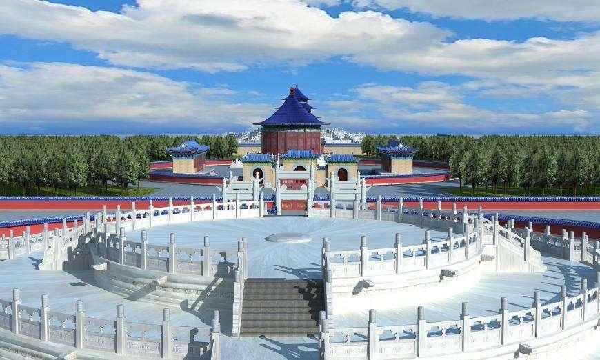 北京天坛·圜丘坛