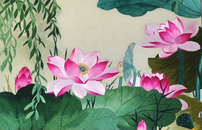 苏绣——中国四大名绣之一