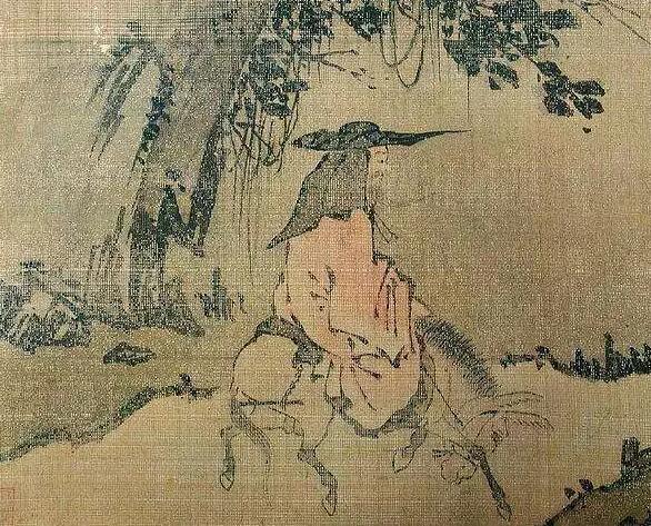 古代文人骑马骑驴