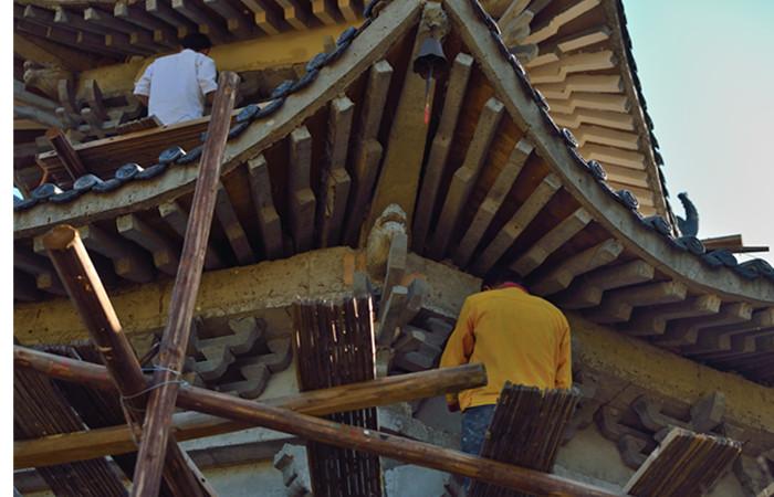 中国古建筑常见损坏及修复方法