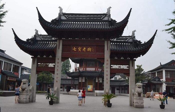 游上海七宝古镇,体验上海千年历史文化