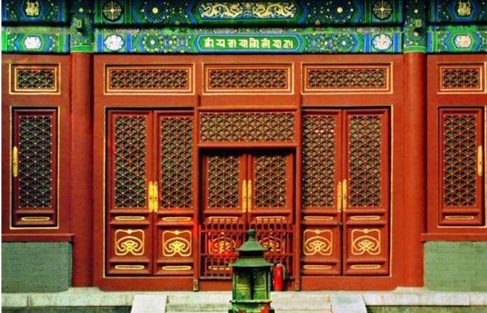 解讀中國古建格扇之美