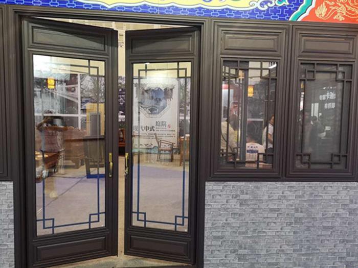 别墅门窗定制铝合金仿古门窗生产厂家