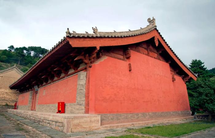 中国古建筑屋顶样式:悬山顶和硬山顶