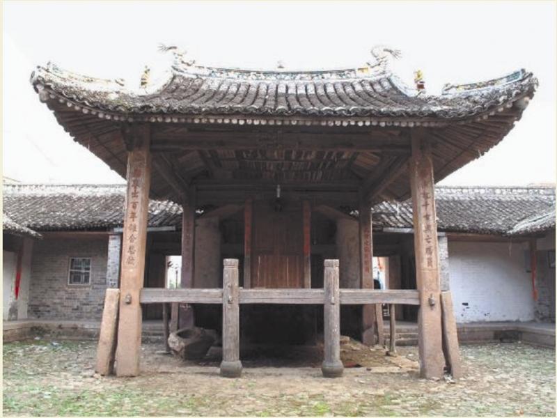温州古戏台