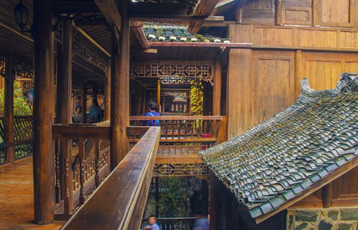 美人靠 | 中式建筑不可或缺的存在