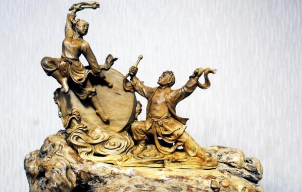 乐清黄杨木雕民间工匠的智慧