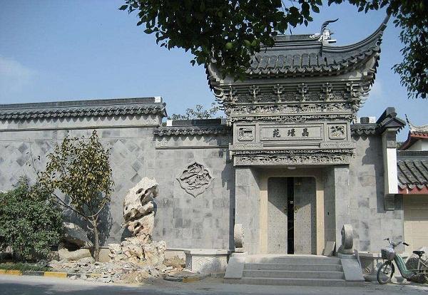 苏州砖雕门楼