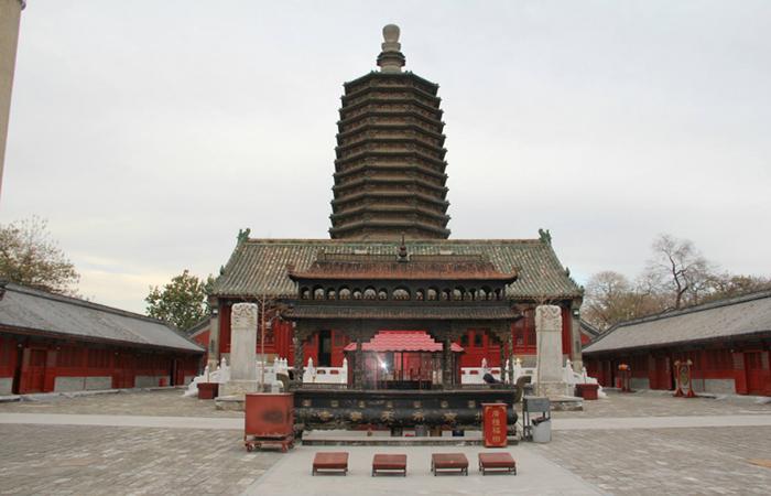 天宁寺:北京城区现存最古老的地上建筑