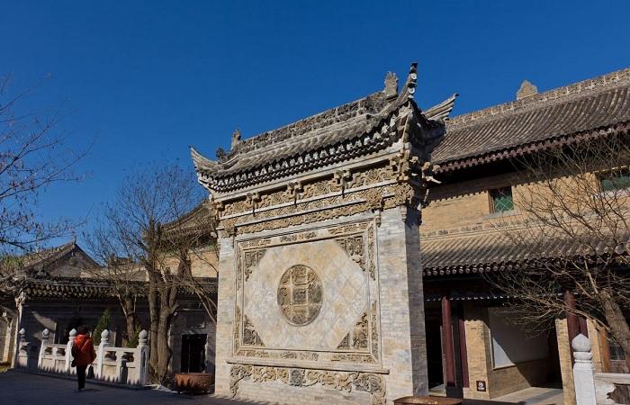 西安关中民俗艺术博物馆——门楼建筑