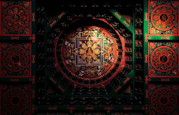 藻井——中国古建筑尊贵的象征